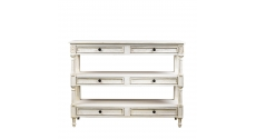 Консоли English Vintage White Console Table