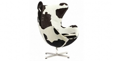 Кресла Egg Chair Pony Black-White